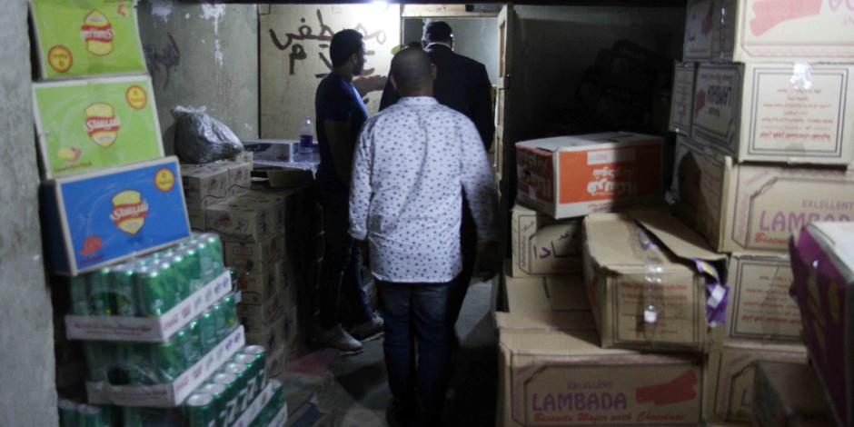 ضبط 34 ألف عبوة من المخبوزات المختلفة غير صالحة للاستهلاك بالإسكندرية