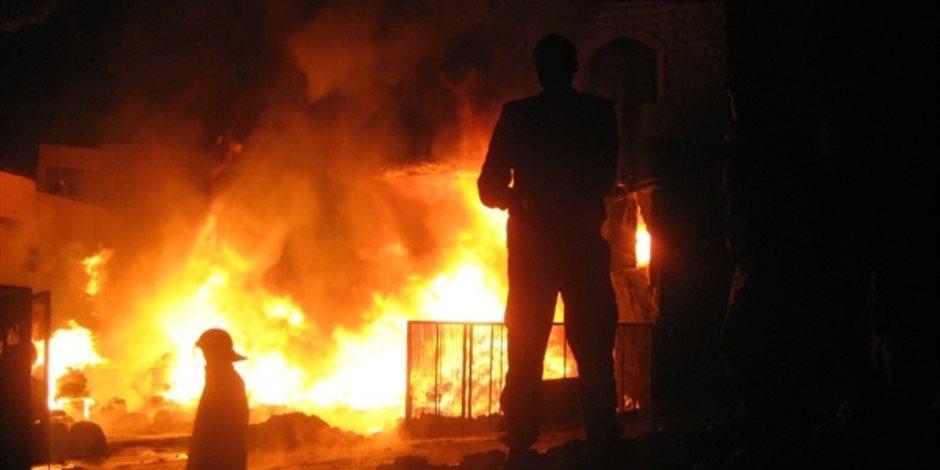 السيطرة على حريق محمول كهربائي في الشرقية