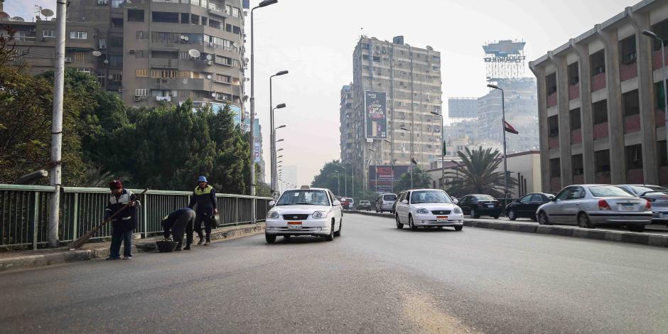 مرور القاهرة: سيولة في جميع المحاور ولا توجد كثافات