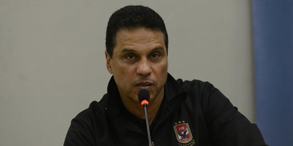 البدري يفوز  مع الأهلي بلقب كأس مصر لاعباً ومدرباً
