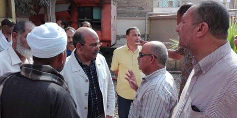 مياة القناة : الإنتهاء من محطة رفع  السماكين بمنايف الإسماعيلية