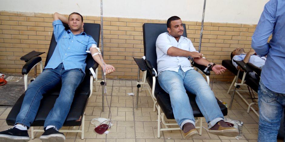 «تبرع بالدم.. تبرع الآن.. تبرع دائما».. احتفالية للصحة غدا