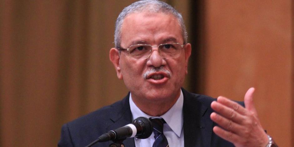 محافظ المنيا يستقبل المجلس التصديري خلال زيارته للمنطقة النسيجية