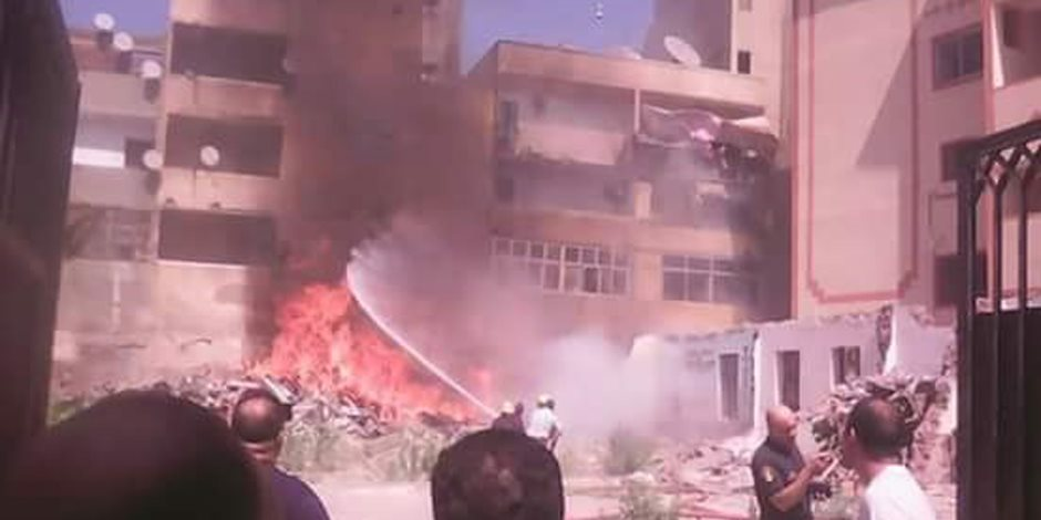 الحماية المدنية تسيطر على حريق نشب في شقة سكنية بإمبابة