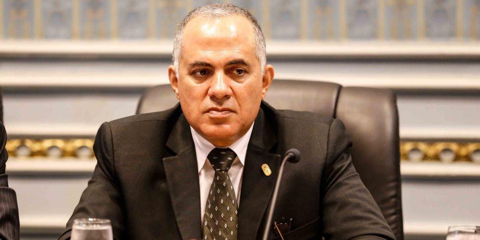 400 مليون جنيه لحوض النيل ومليار متر من الأمطار.. ماذا قال وزير الري عن مياه مصر؟