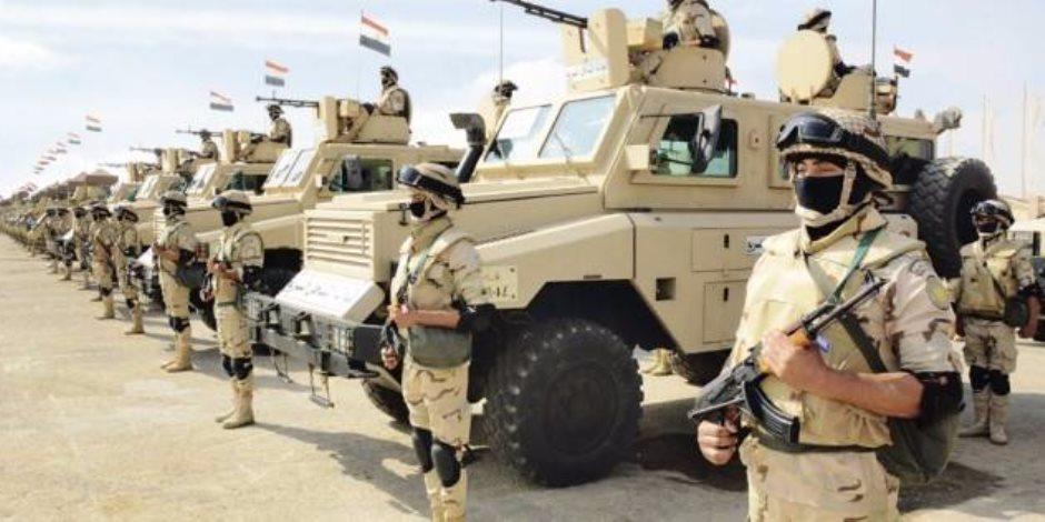 10 نجاحات للقوات المسلحة في البيان الـ13 بشأن العملية الشاملة سيناء 2018