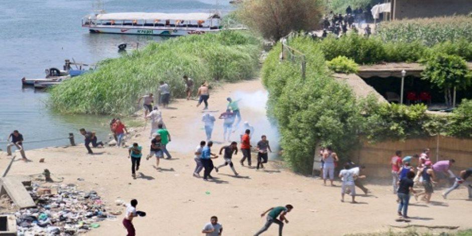 إخلاء سبيل 8 متهمين بإثارة الشغب فى أحداث جزيرة الوراق