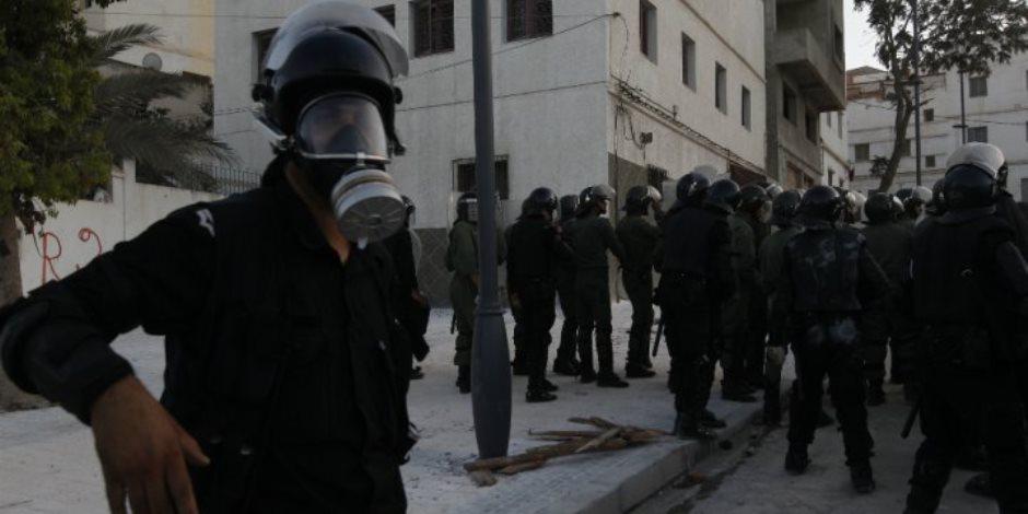 دخول متظاهر فى غيبوبة بعد مواجهات مع قوات الأمن فى الحسيمة بشمال المغرب