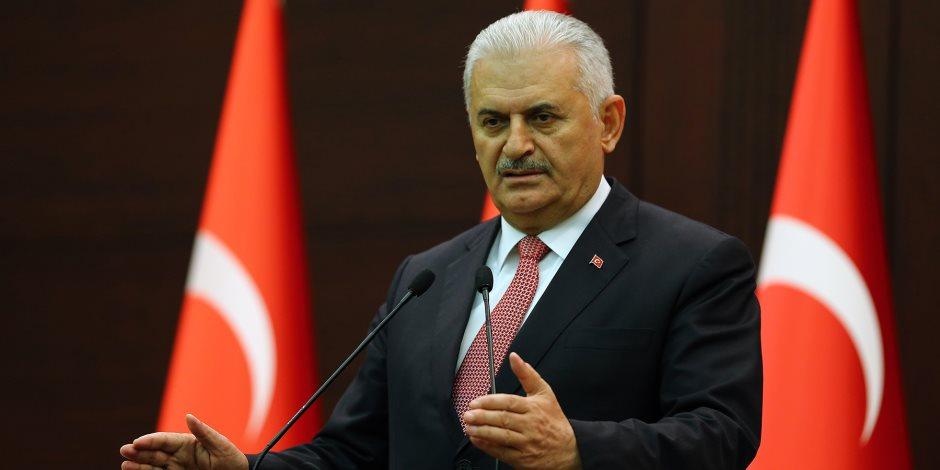 يلدريم: هدف الأنشطة التركية فى إدلب منع الهجرة السورية لبلادنا