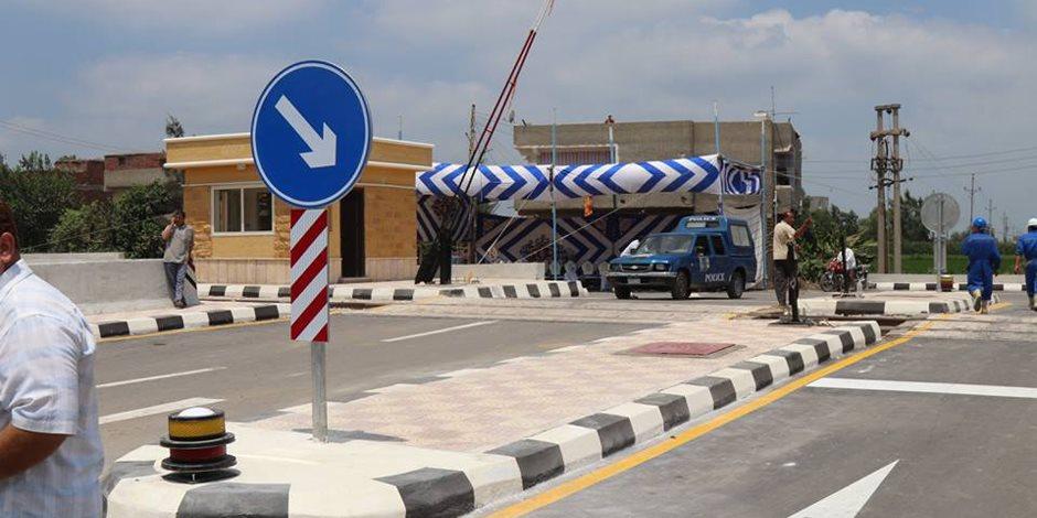 افتتاح المرحلة الأولى من تطوير مزلقاني سيدي غازي بتكلفة 4 مليون جنيه (صور)