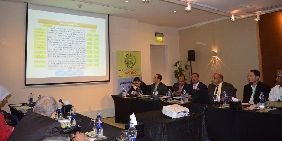 وزير الزراعة يستعرض توصيات ورشة عمل حول تطبيق الاستشعار عن بعد