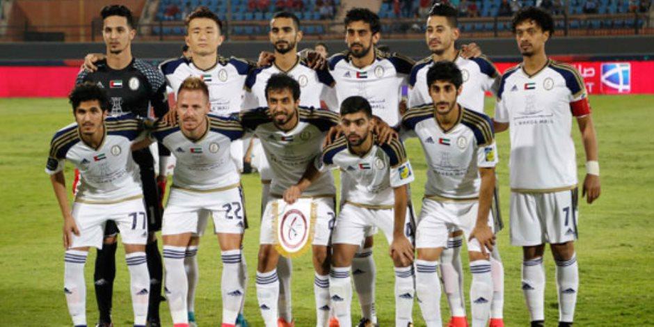 الوحدة الإماراتي يتقدم على العين بهدفين دون رد في الشوط الأول
