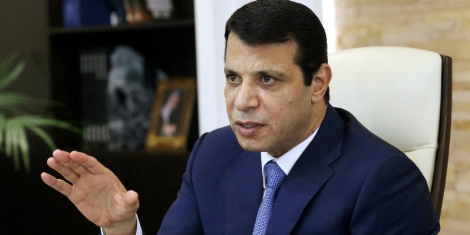محمد دحلان يشارك في جلسة لنواب من المجلس التشريعي في غزة عبر الفيديو كونفرنس