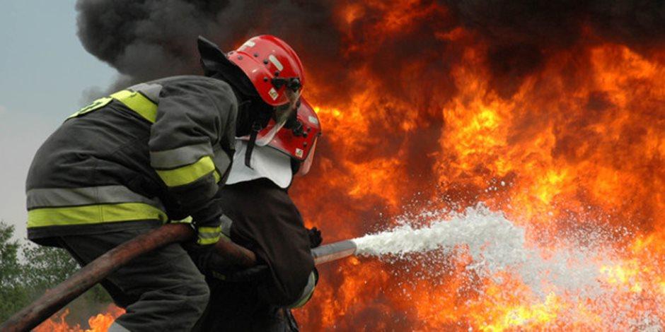 السيطرة على حريق بمصنع ديكور في طريق الإسكندرية الصحراوي