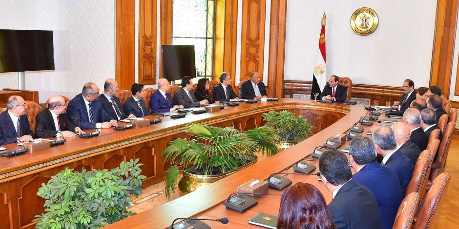 تعرف على سفراء مصر الجدد بعد اعتمادهم من الرئيس السيسي