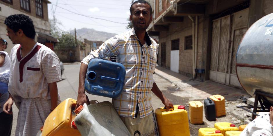 القومية لمياه الشرب: تنفيذ أكثر من  90% من خزان المياه بمدينة دماص