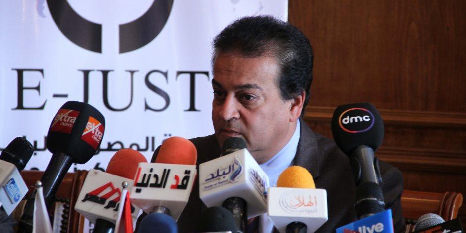 وزير التعليم العالى: إصلاح سفينتى السلسبيل واليرموك بالتعاون مع الترسانة البحرية