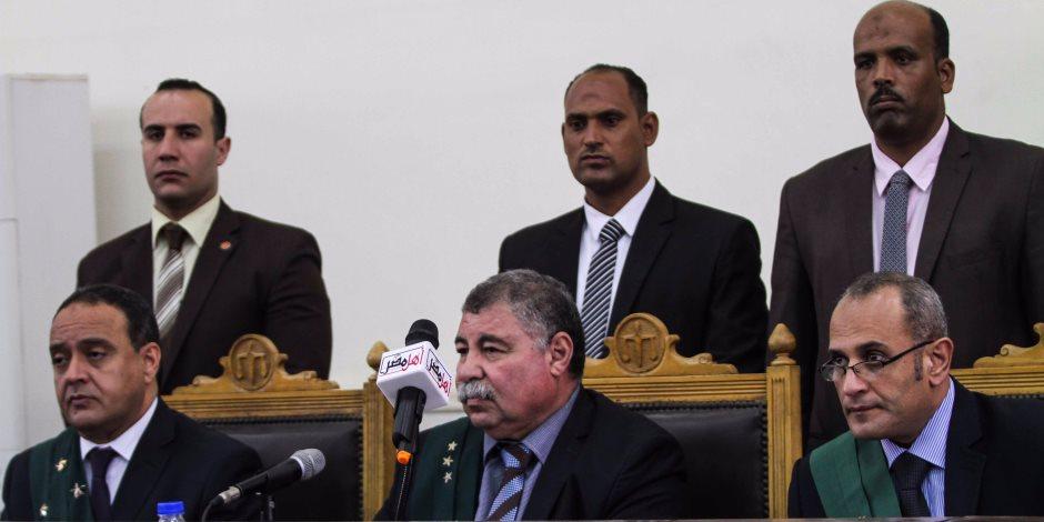 """جنايات القاهرة تستكمل محماكمة المتهمين بـ """"فض رابعة"""".. غدًا"""
