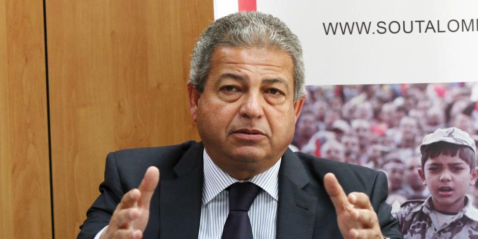 وزير الرياضة يلتقي برابطة الأندية المحترفة