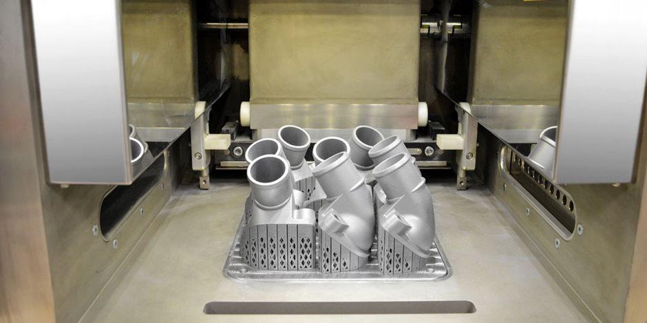 مرسيدس تنتج قطع غيار باستخدام الطباعة ثلاثية الأبعاد