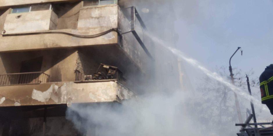 تفحم محتويات شقة سكنية في العمرانية دون إصابات