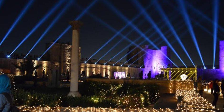 لأول مرة.. 60 ألف زائر في مهرجان محكى القلعة
