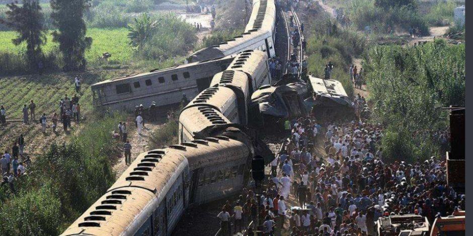 نتيجة بحث الصور عن حادث القطار