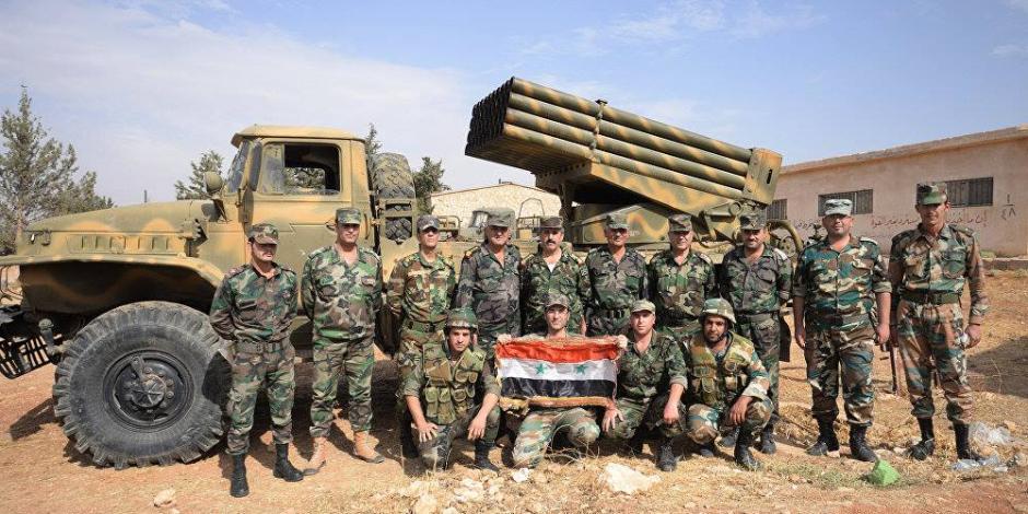 """الجيش السوري يكبد مسلحى """"داعش"""" خسائر بعد محاولة قطع طريق الأمداد الرئيسي لدير الزور"""