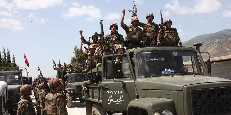الجيش السوري يواصل تقدمه بحمص ويسيطر على عدد من القرى والتلال