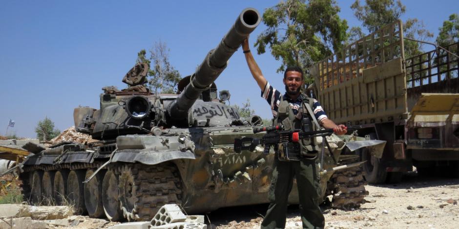 الجيش السوري يسيطر على معاقل المعارضة المسلحة