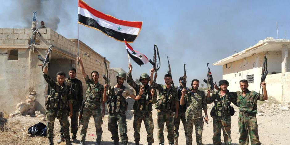 الجيش السورى يدمر أوكاراً وتحصينات للإرهابيين جنوب دمشق