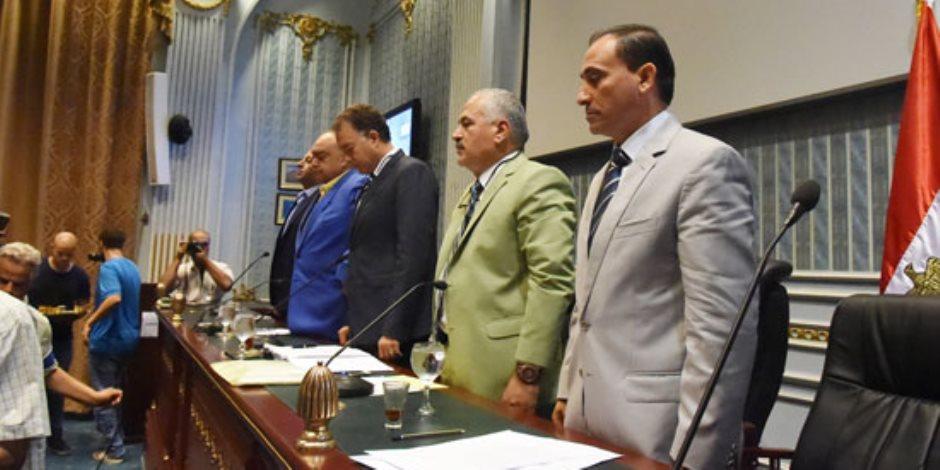 هشام عرفات أمام محكمة «نقل البرلمان» (صور)