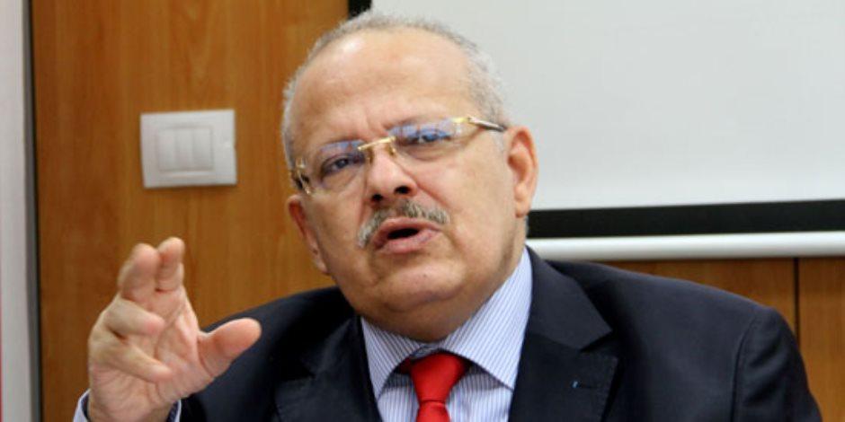رئيس جامعة القاهرة: أحلم بإنشاء جامعة أهلية بالعاصمة الإدارية الجديدة (فيديو)