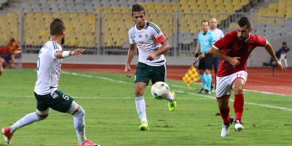 كأس مصر.. عبد الله بيكا يتقدم للمصري في شباك الأهلي