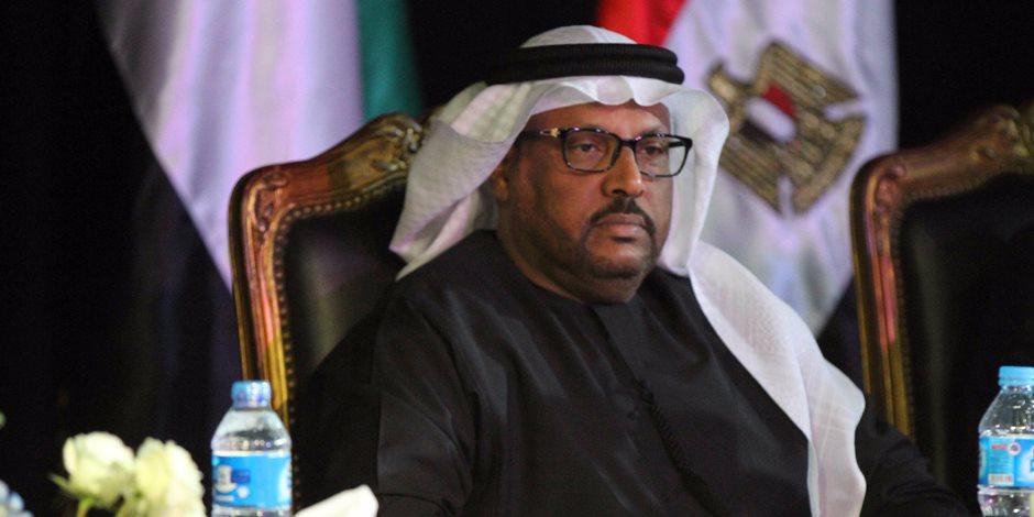 مبارك الجنيبي: الاستثمارات الإماراتية في مصر تجاوزت نحو 6.663 مليار  دولار
