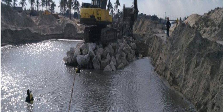 134 مليون جنيه مشروعات بالإدارة المركزية للموارد المائية والري في كفر الشيخ