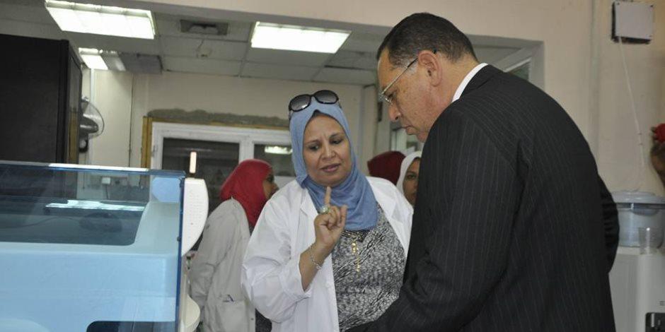 رئيس جامعة قناة السويس يوجه بسرعة إنهاء إصلاحات المستشفى الجامعي لراحة المرضى
