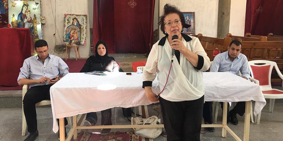 ندوة للقومي للمرأة بالأقصر لتوعية السيدات بمقر «دير القديسين» في مدينة الطود (صور)