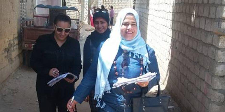 فرع القومي للمرأة بالأقصر يواصل حملات لاستهداف 10 آلاف سيدة بقرى مدينة الطود