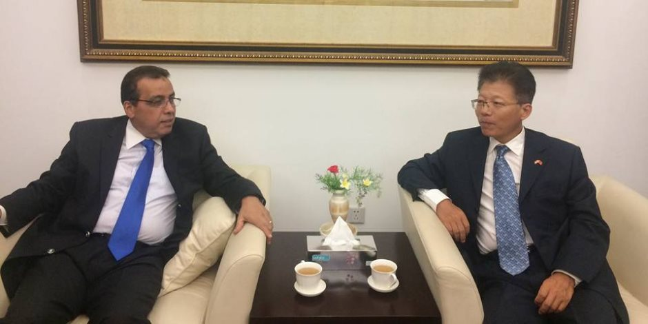 تعاون بين السفارة الصينية وجامعة قناة السويس