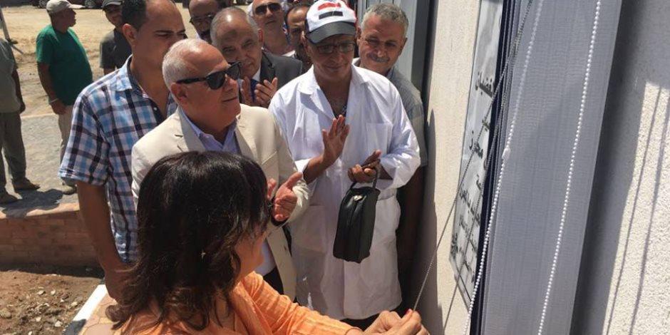 نائب وزير الزراعة تفتتح مجزر جديد وتتفقد مشروعات الثروة الحيوانية ببورسعيد (صور)