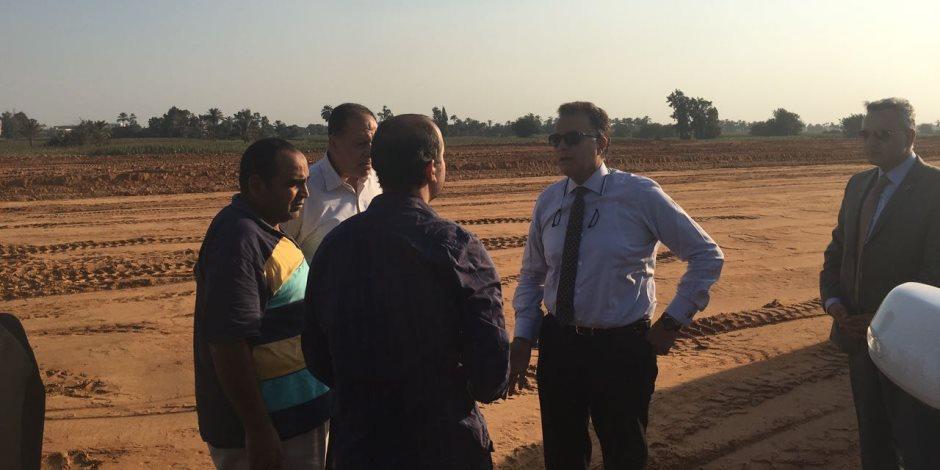 وزير النقل يتابع اعمال تنفيذ «الدائري الإقليمي»