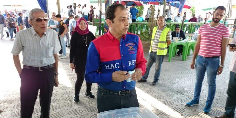 عمرو عبدالحق يوجه الشكر لشقيقته على الفترة التي قضتها في رئاسة النصر