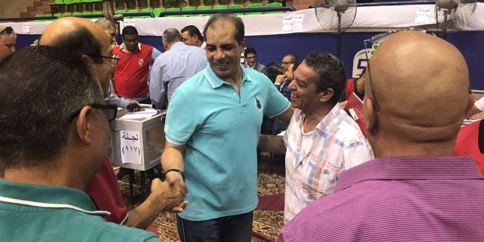 عمومية الأهلي .. علاء ميهوب يشارك في عملية التصويت علي لائحة النادى