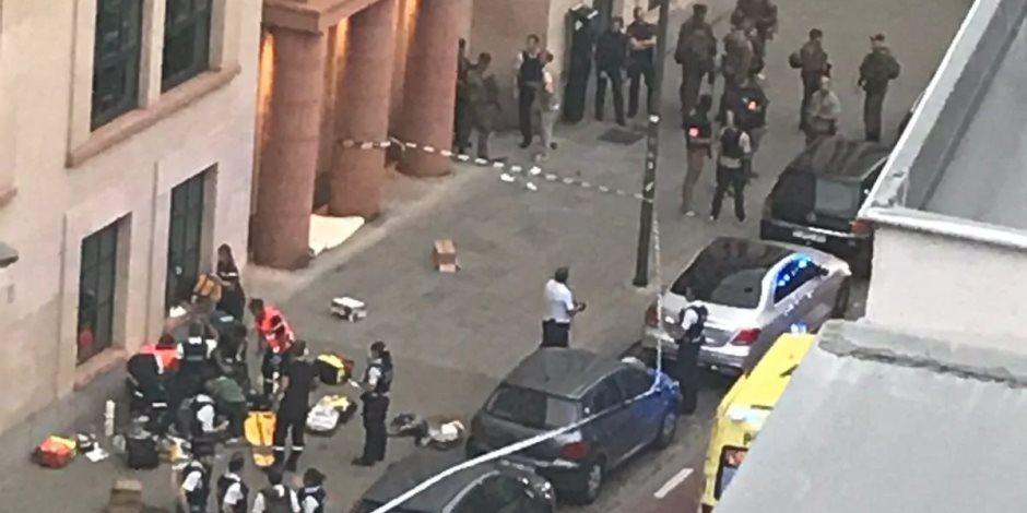 طعن جندي ببروكسل في هجوم إرهابي.. والشرطة تقتل المهاجم
