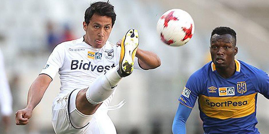 عمرو جمال أساسياً مع فريقه أمام كايزر تشيفيز بكأس جنوب أفريقيا