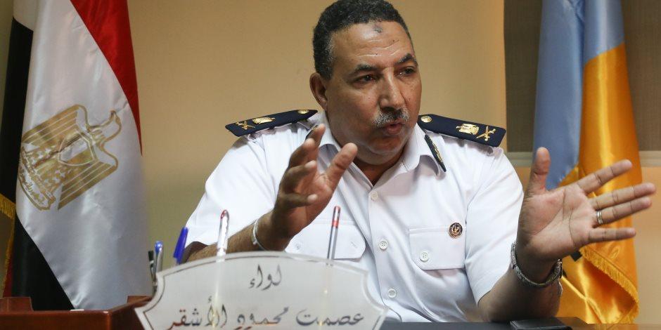 مدير المرور يتفقد الطرق السريعة والصحراوية ويشدد على تأمين الرحلات