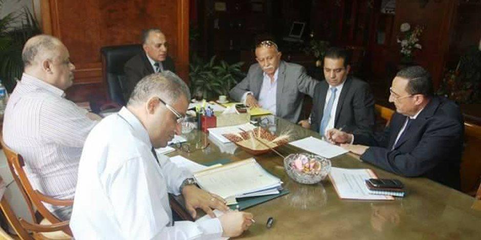 قيادات «الري» تناقش مشروعات التوسع الأفقي على مستوى الجمهورية