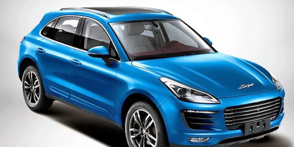 شركة «Zotye» تطرح النسخة المقلدة من سيارة «بورشه ماكان»
