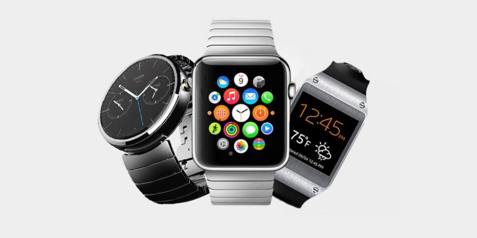 شركات التكنولوجيا تتنافس في عرض إنتاجها من الساعات الذكية